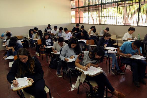 Ensino médio tem 8,1 milhões de matrículas, a maioria em escolas públicas (87%) da rede estadual (80%). Parecer sobre a Medida Provisória 746/2016, que estabelece a reforma do ensino médio, deve ser apresentado esta semana à comissão mista do Congresso NacionalGabriel Jabur/Agência Brasília/GDF