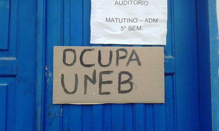 Campus XVIII da UNEB em Eunápolis, Bahia, ocupado!