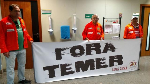 Ditadura de Temer bloqueia toda comunicação dos trabalhadores na Petrobrás