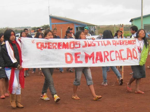 Aty Guasu das mulheres Guarani e Kaiowá. Crédito: Ruy Sposati/Cimi