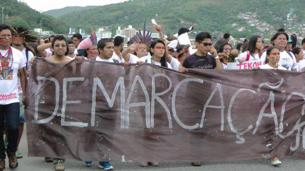 Foto: Rubens Lopes - Estudantes indígenas durante o ENEI