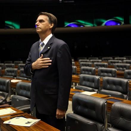 Dep. Jair Bolsonaro. Foto: Fernando Bizerra/EPA/Newscom