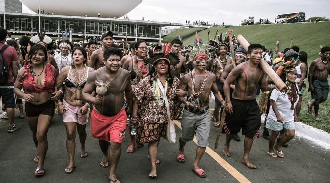 Brasília será palco de mobilização com mais de 1,5 mil indígenas