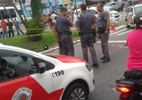 Abordagem a dois suspeitos iria acontecer por volta das 16h de quinta-feira (06/04), em São Vicente, litoral de SP – Foto: Reprodução/Ponte Jornalismo