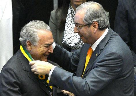 Em carta, Cunha desmente Temer e confirma conspiração do golpe
