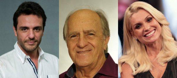 Moro, Lula e delegada vividos por atores
