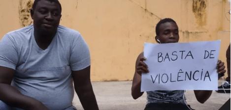 Comunidade senegalesa se mobilizou em Florianópolis