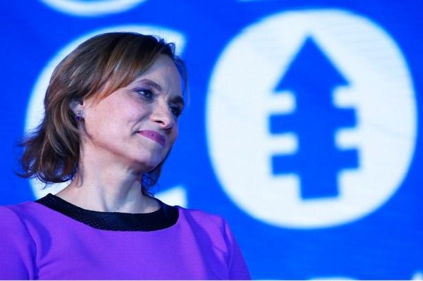 Senadora Carolina Goic foi lançada como candidata à Presidência do Chile pela Democracia Cristã. Agência EFE