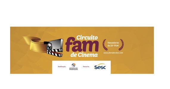 Circuito FAM de Cinema vai percorrer 28 cidades de SC
