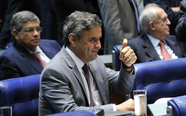 Geraldo Magela/Agência Senado Conversa do senador afastado Aécio Neves (PSDB) foi gravada pelo dono da JBS, Joesley Batista e usada em delação