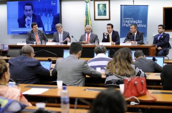 Audiência na Comissão de Legislação Participativa foi boicotada por deputados favoráveis à reforma da Previdência. Foto: Lúcio Bernardo Jr./Ag. Câmara