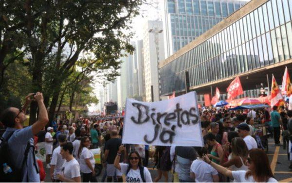 Centrais sindicais e frentes Brasil Popular e Povo Sem Medo realizam ato na próxima terça na Praça da Sé (Foto: Paulo Pinto/Agência PT)