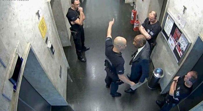 Advogado negro é agredido e algemado após ser impedido de usar elevador no TRT