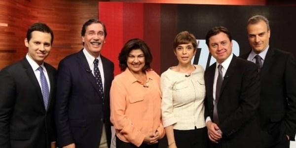 A equipe de ilusionistas da GloboNews