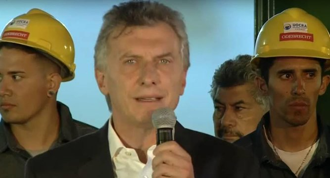 Macri e a novela Odebrecht