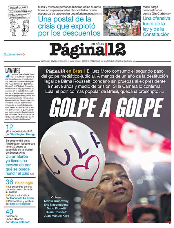 Lula à moda argentina