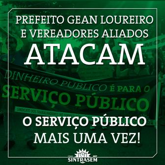 Prefeito Gean e vereadores da base aliada atacam mais uma vez o serviço público de Florianópolis