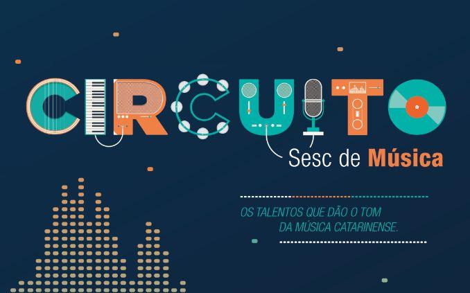 Circuito Sesc de Música chega a Vidal Ramos, Rio do Sul, Lages e Urubici, de 18 a 23/07