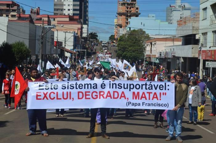 São Miguel do Oeste/SC: Grito dos/as excluídos/as acontece dia 07 de setembro
