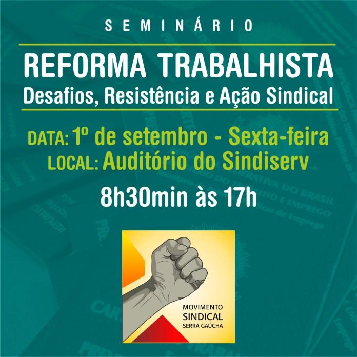 Seminário da Reforma Trabalhista
