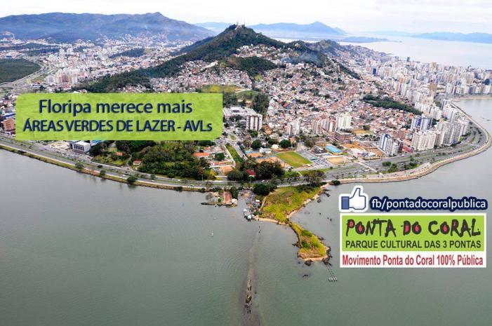 Plano Diretor de Florianópolis: Reunião Piquenique no Parque de Coqueiros