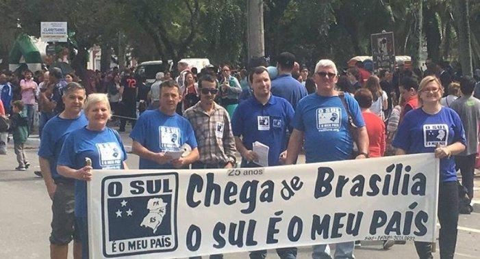 Movimento Sul é o Meu País realiza consulta em outubro pela separação do Brasil