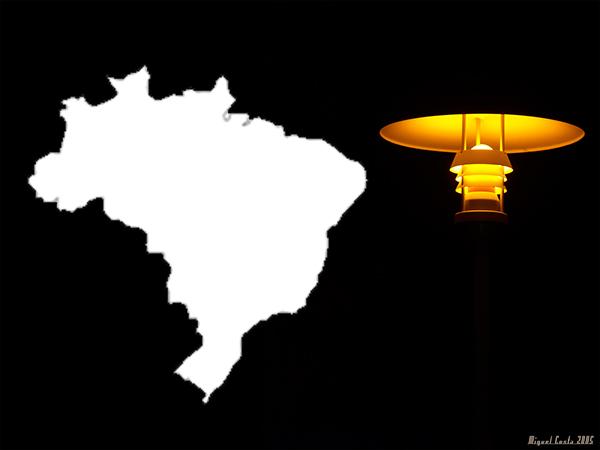 O Brasil às escuras