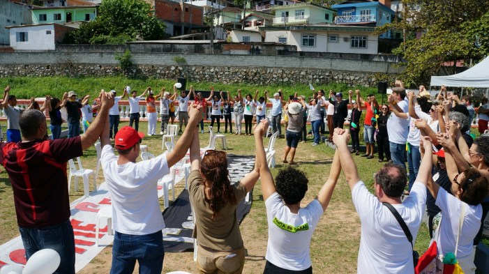 Grito dos Excluídos, em Florianópolis, lembra jovens em ato com espírito de retomada