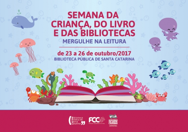 Biblioteca Pública promove Semana Mergulhe na Leitura