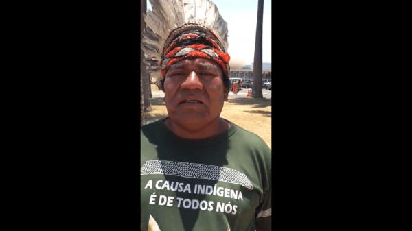 Indígenas são recebidos com gás de pimenta e bala de borracha na Câmara dos Deputados