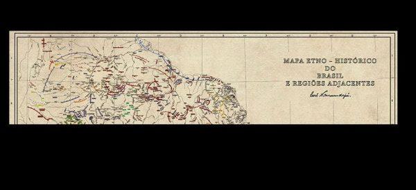 Mapa etno-histórico reúne línguas indígenas do Brasil