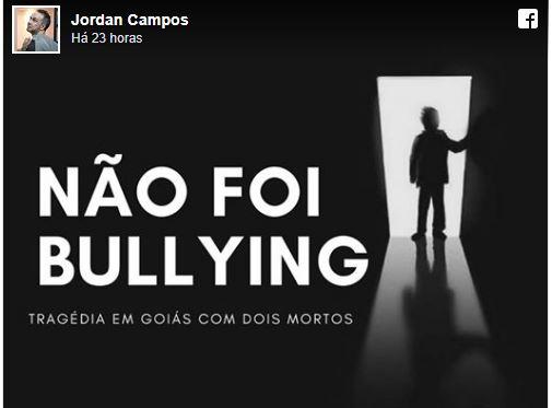 """""""Não foi bullying"""" – tragédia em que adolescente atira em 6 colegas, resultando na morte de 2"""
