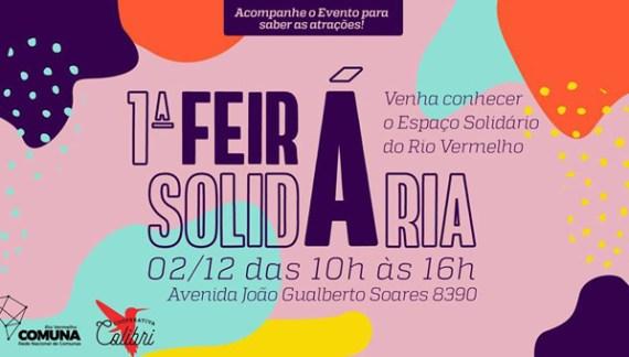 1a. Feira no Espaço Solidário do Rio Vermelho