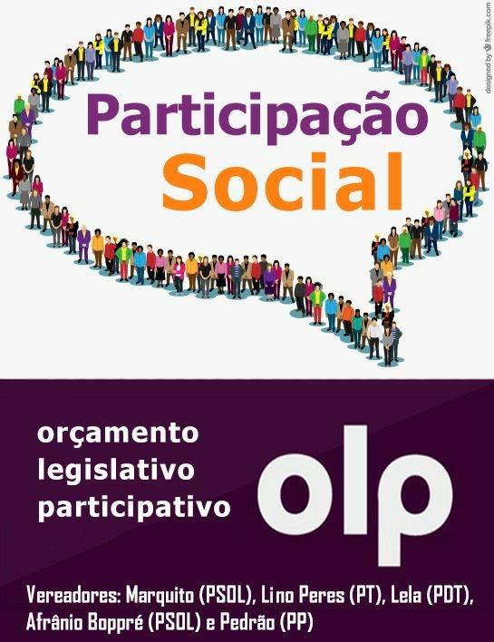 Orçamento Legislativo Participativo: as gentes decidindo