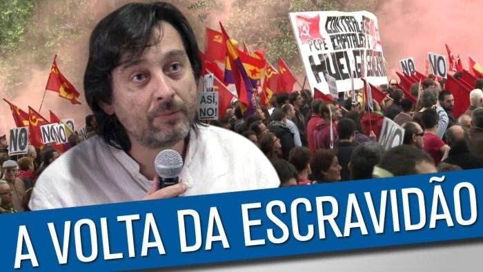 O desastre da reforma trabalhista na Espanha