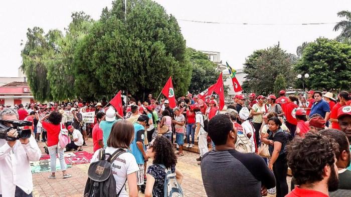 Ato denuncia tentativa de assassinato e ameaças a trabalhadores Sem Terra