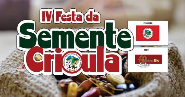 MPA prepara IV Festa da Semente Crioula