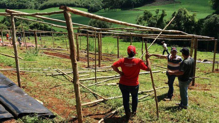 Dois acampamentos são realocados em Santa Catarina, um deles, Marcelino Chiarello