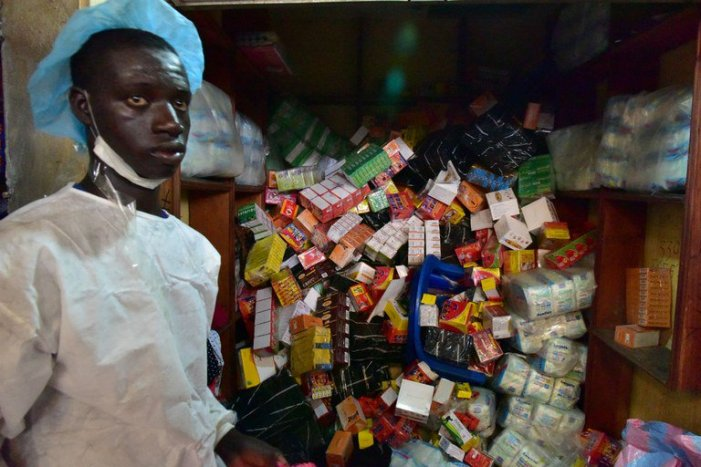 Medicamentos falsos, um negócio rentável e mortal na África