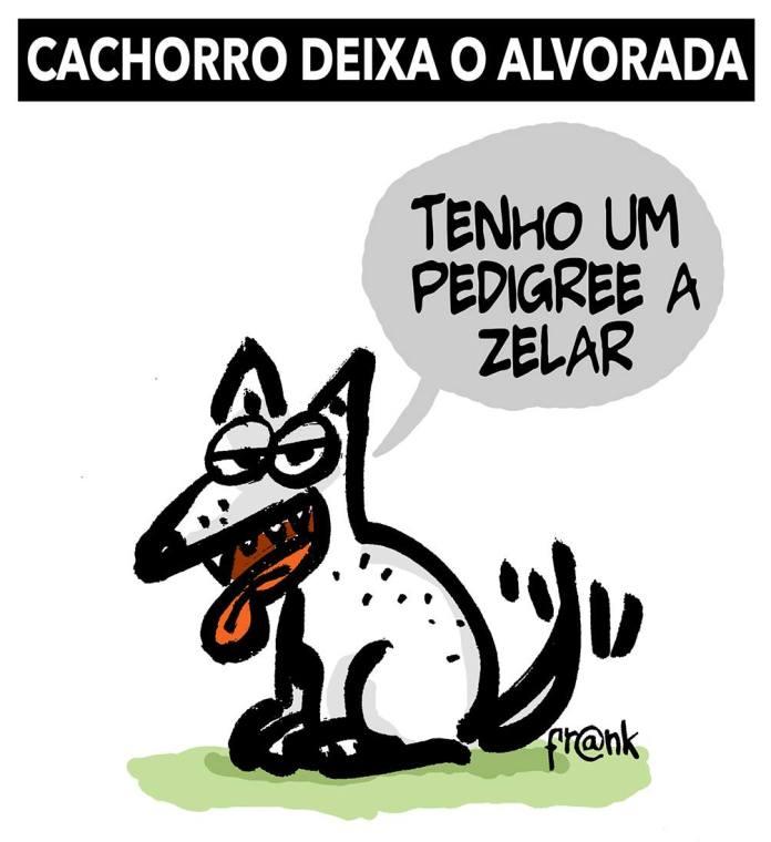 Augusto, o (ex)cachorro dos Bolsonaro. Por Frank.   Desacato
