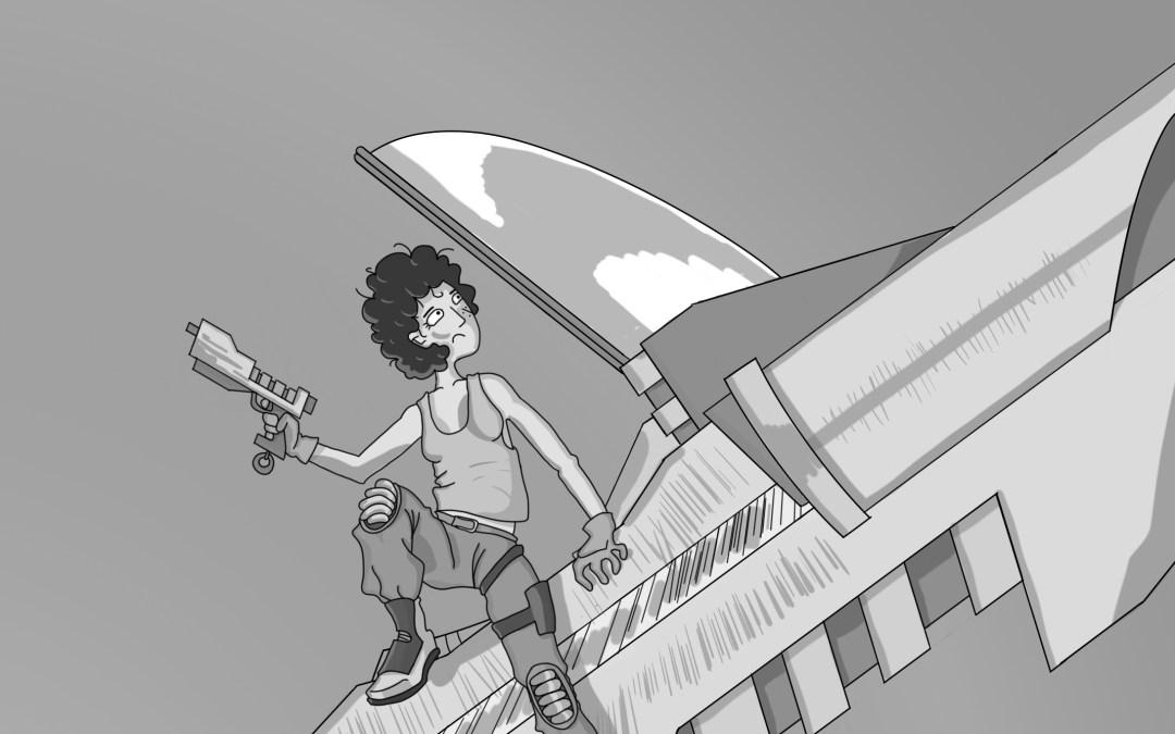 El inspector Tontinus y la nave alienígena. Capítulo 1