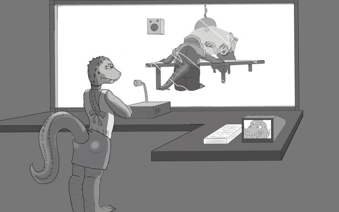 El inspector Tontinus y la nave alienígena. Capítulo 2