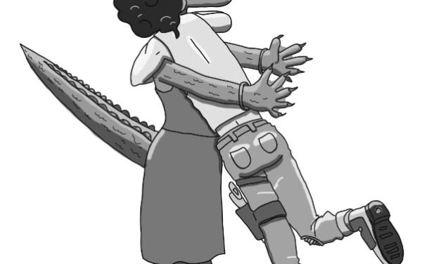 El inspector Tontinus y la nave alienígena. Capítulo 9