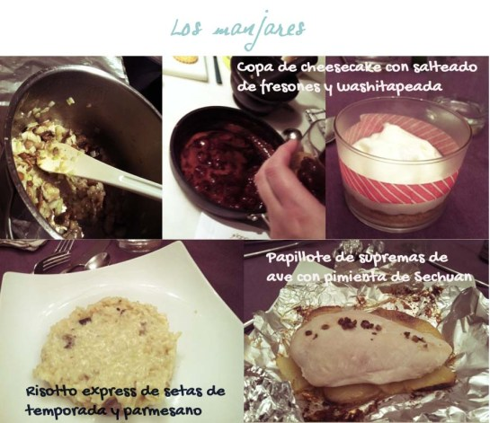 Food  risotto chesse cake