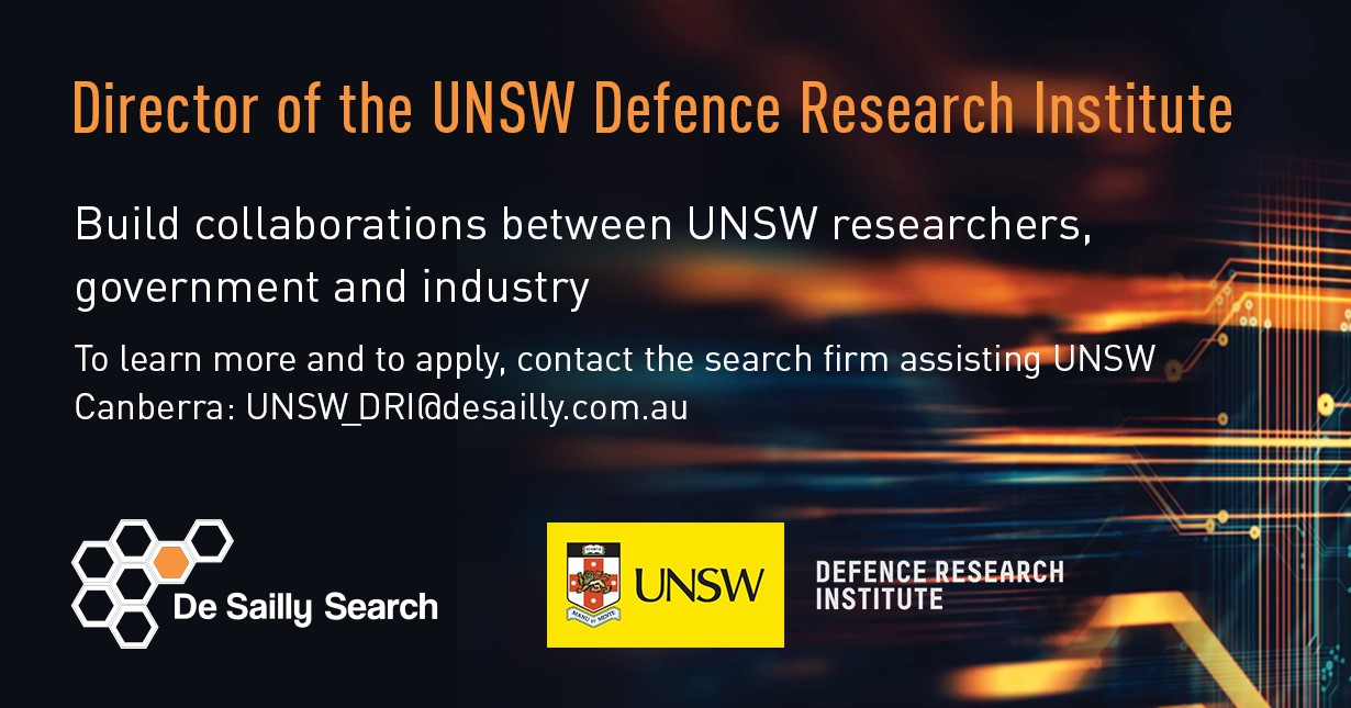 Unsw Cover Letter Director Of The Unsw Defence Research Institute De Sailly Consulting