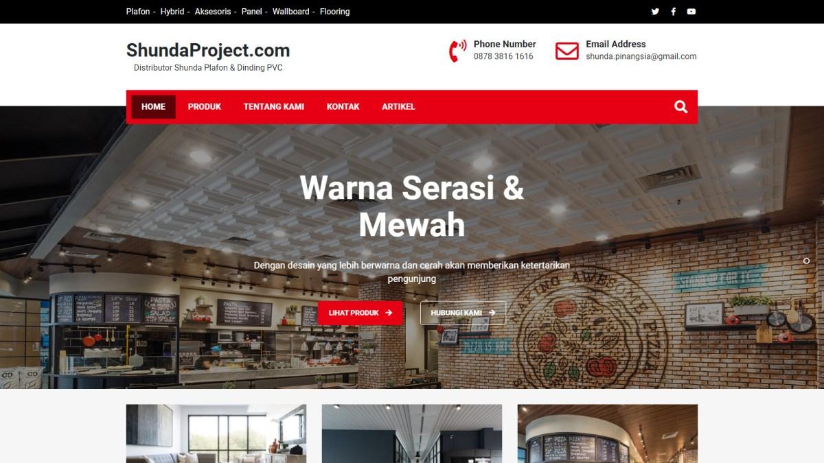 ShundaProject.com Homepage