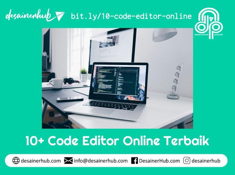 10+ Code editor online terbaik