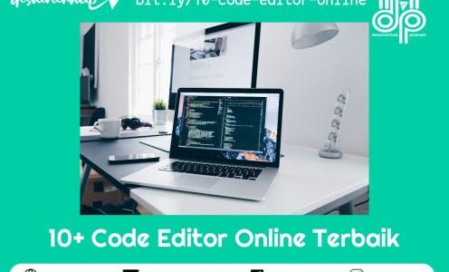 10+ Code Editor Online Terbaik Untuk Web Developer