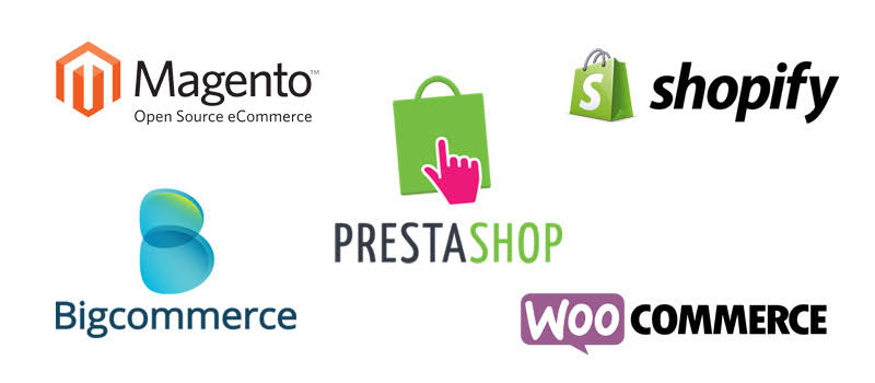 ecommerce platform, woocommerce, prestashop, magento, shopify, bigcommerce