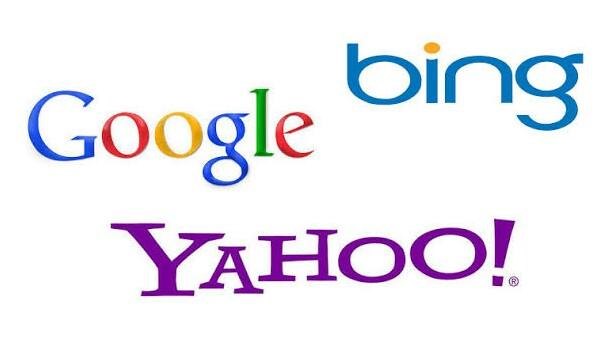 Search engine, google, bing, yahoo